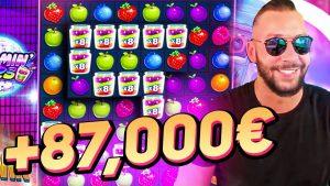 ULTRA үлкен ұтысы +87 000 € JAMMIN JARS SLOT (мәжбүрлі ойын) - казино бонусы