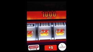 Wheel Hot 777 Slot Machine!! HUGE WIN!! #Shorts