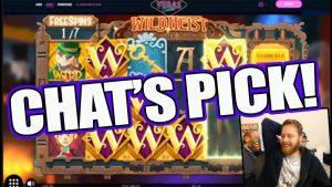 Wild Heist BIGWIN chat picks!