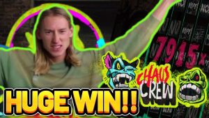 flow DC DURING large WIN!! CHAOS CREW – HUGE WIN 3 EURO BONUS purchase FROM CASINODADDY