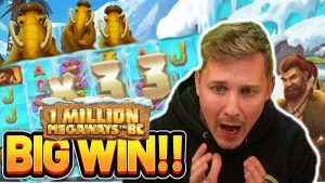 large WIN!! 1 1000000 MEGAWAYS BC large WIN – casino bonus slot win from Casinodaddy