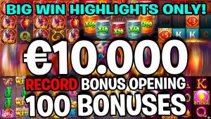 large WIN HIGHLIGHTS – tape BONUS HUNT OPENING – ONLY large WINS!