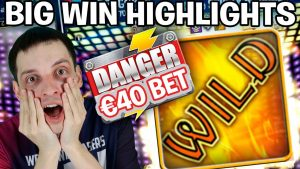 large WIN Highlights: €40 large BET on Danger!