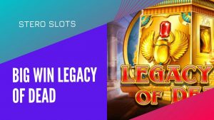 large WIN – Legacy of Dead + Mega Donatie de la @SlotVLT Mike. casino bonus Streamer 🙏