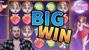 large WIN!! Luna Princess Crazy Win – casino bonus Games from MrGambleSlots Live current