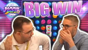 large WIN ON JAMMIN JARS – casino bonus current large Wins