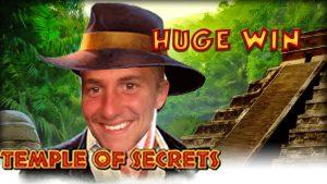 """didelis LAIMĖK !!!! Paslapčių šventyklos didelis laimėjimas - kazino premija - premijos žiedas (kazino premijos lizdai) iš """"Live flow"""""""