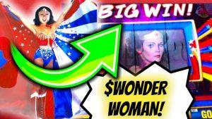 🦸💥$$large WIN [WONDER adult woman] SLOT MACHINE WINDCREEK casino bonus Wetumpka al Sams town Tunica MS
