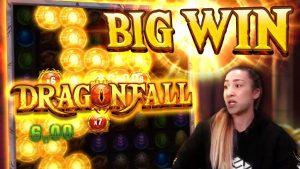 large WIN on Dragonfall Bonus purchase!