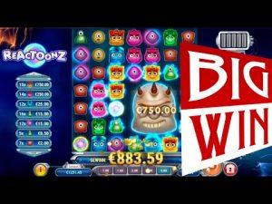 large WIN on REACTOONZ slot | Best wins of the calendar week online casino bonus
