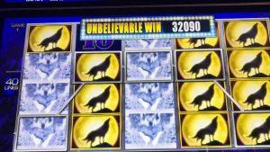 large Win at Kickapoo Lucky Eagle casino bonus