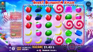 sugariness BONANZA XMAX 146X Gelirse, Ne Olur ? #sweetbonanza #bigwin #casino bonus #canlıcasino #slotoyunları