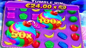 sugariness Bonanza 🍭 Non halt Bonus Buys together with large Wins 100X together with 50X are Raining inwards in 1 lawsuit again Boom‼️