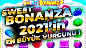 sweetness BONANZA Yeni Yılın ilk Yeni Rekoru Supriz Video da large Win #sweetbonanza #slot