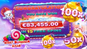 sweetness Bonanza XMas Biggest Wins at the Online casino bonus