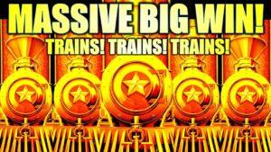 ★MASSIVE large WIN!★ 🚂 novel CASH limited LUXURY LINE Slot Machine (Aristocrat Gaming)