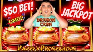 ✦kabbar HACKPAY JACKPOT✦ Fuq Magna Slott Dragon Cash - $ 50 A Spin | Magni tal-islott JACKPOT | SE-disgħa | EP-22
