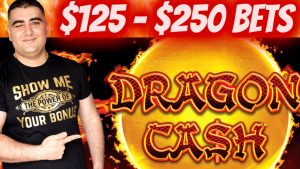 $125-$250 A Spins High bound Dragon Link | Playing large Money inwards Vegas For Huge Win$