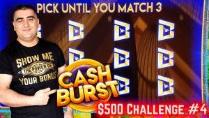 $500 Challenge On Slot To hitting The MAJOR JACKPOT!  EP-4