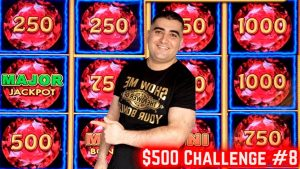 $500 Challenge To hitting The JACKPOT PRIZE ! EP-8