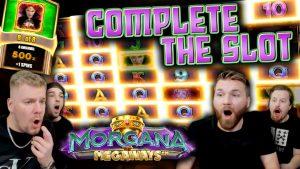COMPLETED THE BONUS?! Morgana Megaways Huge Win!!!