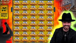 CRAZY total covert WILDS! Streamer Monster Win on San Quentin slot! BIGGEST WINS OF THE calendar week! #35