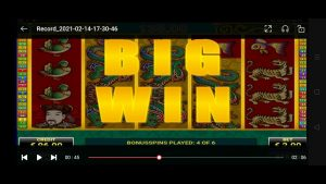 DRAGON'S PEARL large WIN avec grand bonus slot casino bonus game