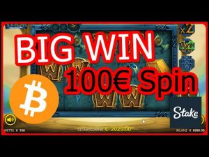Extreme large WIN – casino bonus Games – 100€ Spin
