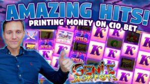 Genie Jackpots large WIN – Slots – casino bonus games (Online slots) from LIVE flow
