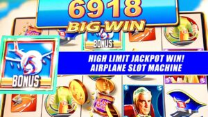 HIGH boundary plane THE SLOT MACHINE JACKPOT ★ GOLDEN TICKET ➜ large WIN JACKPOT