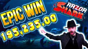 Získal 195.235 10 € na Razor Shark Slot - TOP XNUMX největších výher v kalendářním týdnu # devět