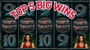 IMMORTAL ROMANCE !!! Top 5 large wins , mega wins , online casino bonus bonus