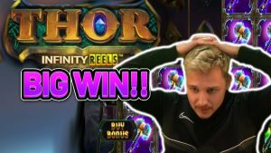 INFINITY REELS TO THE  Luna!!!! THOR INFINITY REELS  large WIN – HUGE WIN ON BONUS purchase