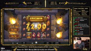 INSANE WIN!!! Ramses Revenge – large Win 1168x / Euky – Slots, casino bonus, Gambling