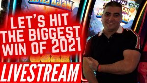 🔴LIVE ! permit's striking THE BIGGEST WIN 🏆 OF 2021! High boundary LIVE flow Slot Play