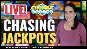Live At Chumba casino bonus💰 Chasing Jackpots & large WINS 🍀Chumba casino bonus Livestream 🎰 Online Slots