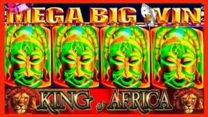 **MEGA large WIN!!!** MAX BET BONUSES! virile soul monarch of Africa (WMS) Slot Machine