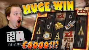 Mega large Win on Deadwood!