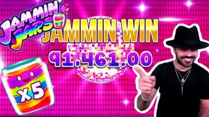 Roshtein 96.700€ Win on Jammin' Jars Slot – TOP 10 Biggest Wins of the calendar week #6
