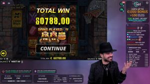 Roshtein Wins 60788€ San Quentin – Online casino bonus large Win inwards Slots
