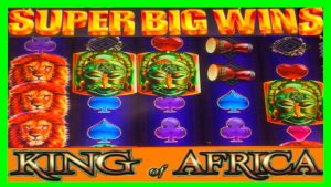 **SUPER large WINS!** virile individual monarch of Africa & Pirate Ship WMS Slot Machine Bonuses