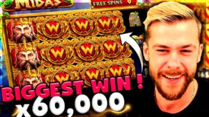 Streamer CRAZY MONSTER BIGGEST WIN x60.000 on mitt of Midas Slot – TOP 10 BEST WINS OF THE calendar week !