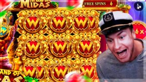 Streamer Crazy Insane large Win on The manus of Midas slot – TOP BEST WINS OF THE DAILY !