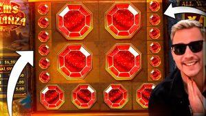 Gems Bonanza Slot оюнундагы ULTRA СУПЕР УТКАН Стример роман - календардык жуманын ТОП 10 МЫКТЫ УТУШУ!