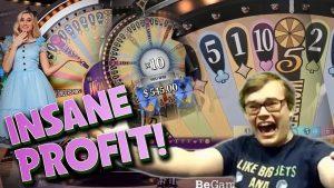 THE BEST casino bonus GAME EVER? HUGE WINS! Adventures Beyond Wonderland Live casino bonus Games
