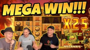 Temple of Treasure large WIN – HUGE WIN on casino bonus Game from CasinoDaddy