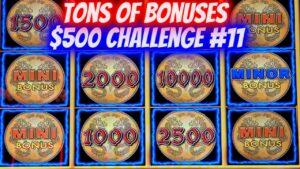 Τόνοι μπόνους & μεγάλη νίκη σε κουλοχέρη Lightning Link! $ 500 Challenge EP-11