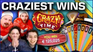 Top 10 Biggest Wins on Crazy Time – portion 2