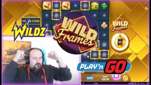 Wilds Wilds Wilds!! large Win From Wild Frames!!