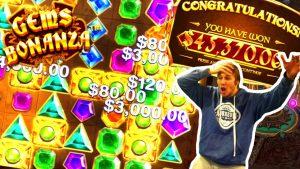 Xposed 45.370$ Win on Gems Bonanza Slot – Daily Dose of Gambling #27